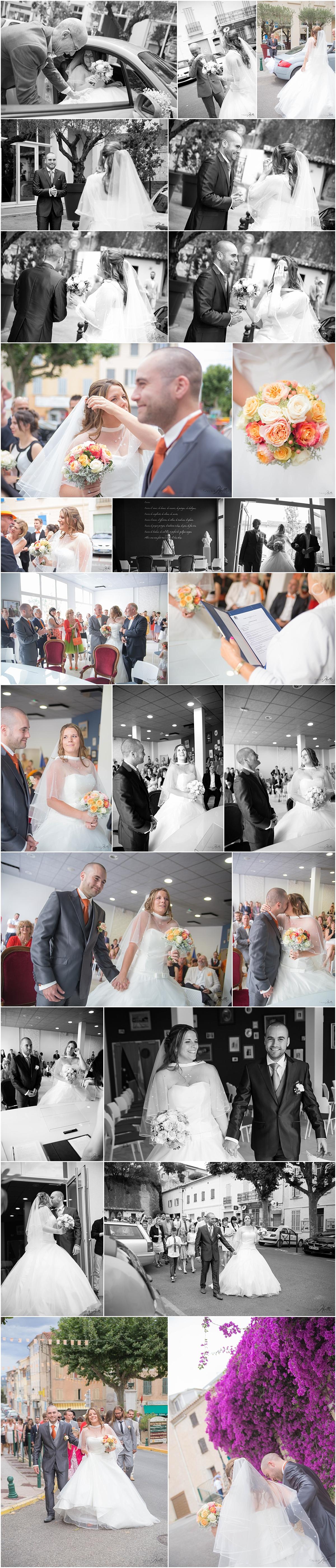 photo mariés dans le var